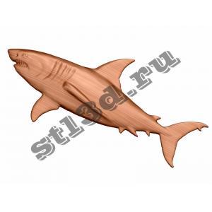 017 Панно Акула