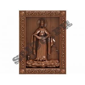 001 Икона Покрова Пресвятой Богородицы