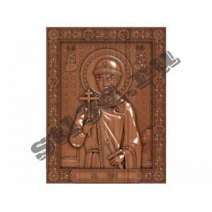 251 Икона Глеб Владимирович (Князь Муромский)