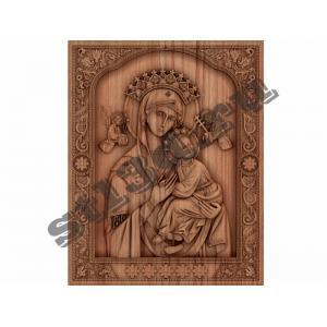 004 Икона «Страстная» икона Божией Матери